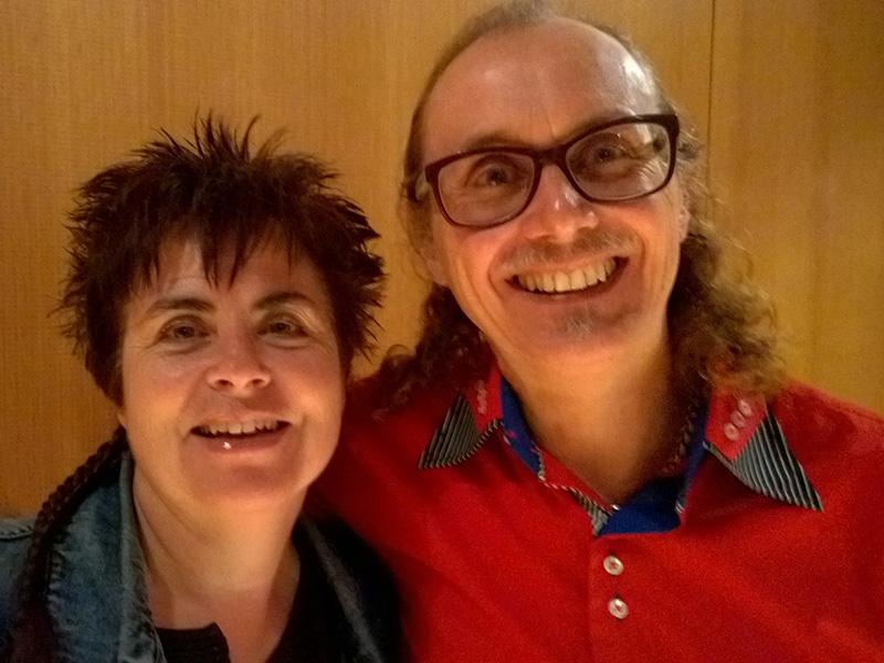 Alice Gabathuler, Schweiz Autorin Aufgenommen am 31.10.2014 www.alicegabathuler.ch - Alice_Gabathuler_Franz_Bucher_Autorin